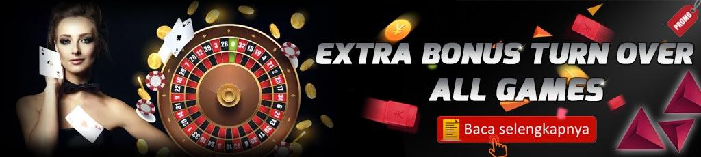 Extra Bonus Turn Over Bandar303